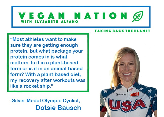 Dotsie Bausch Quote from Awesome Vegans Interview