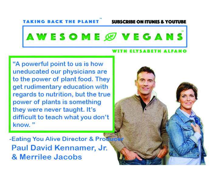 Eating You Alive quote on Awesome Vegans Podcast