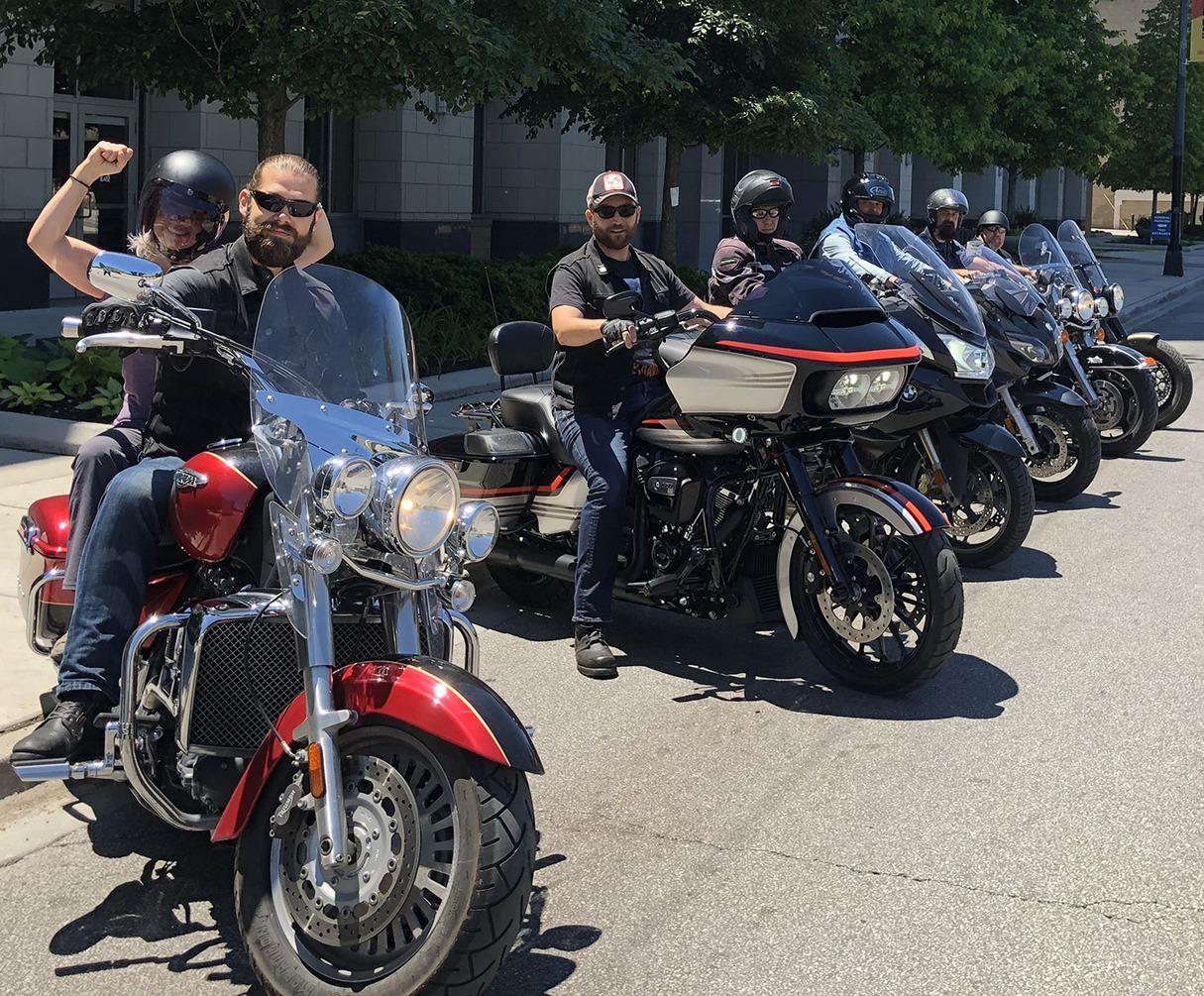 Vegan's Choice Motorcycle Club with Elysabeth Alfano