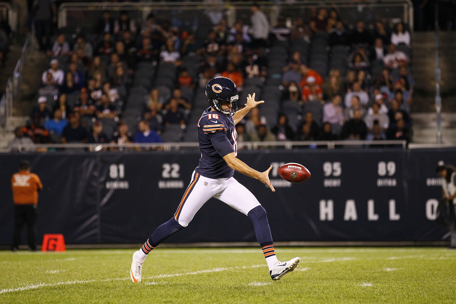 Chicago Bears Punter Pat O'Donnell on Awesome Vegans with Elysabeth Alfano