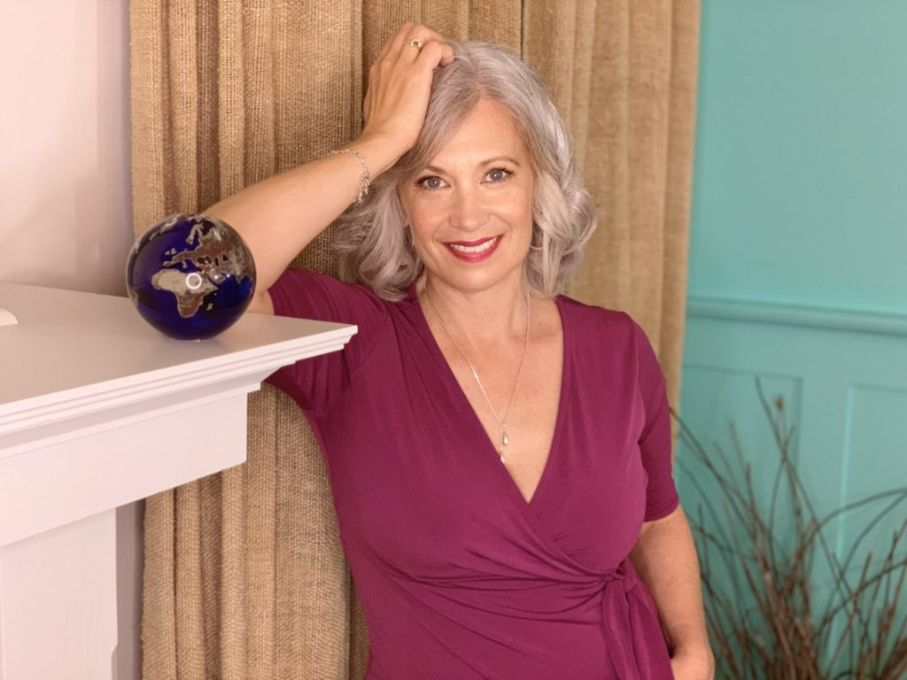 Silver-Chic Chef and Aging Backwards Expert, Elysabeth Alfano
