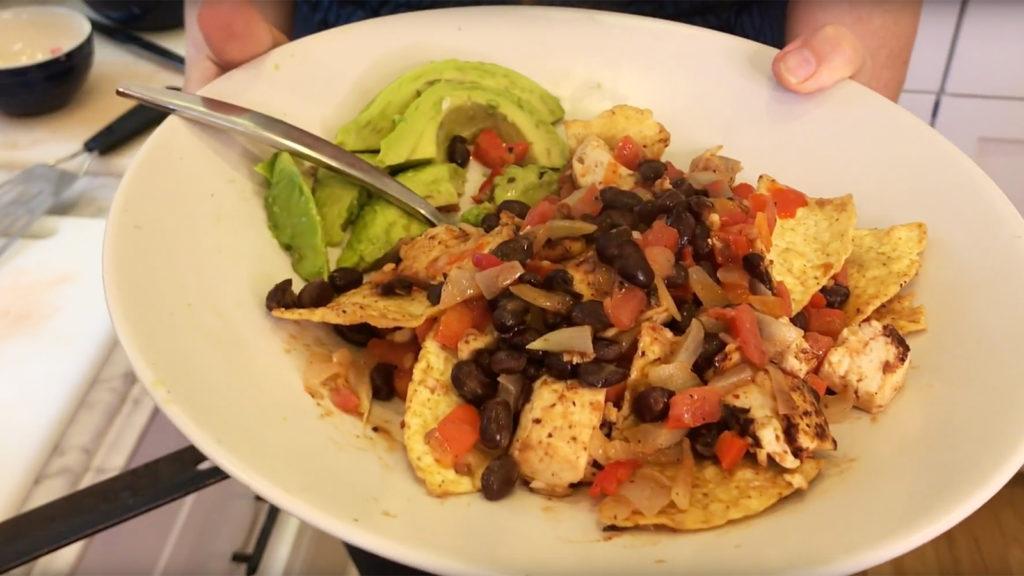 Vegan Chilaquiles!