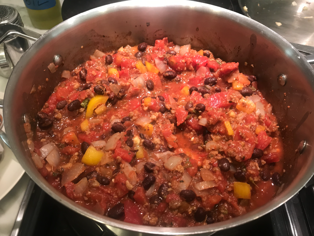 The Colorful Vegan Chili