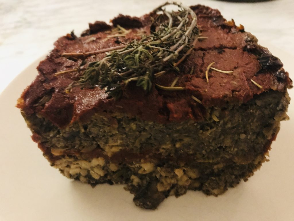 Elysabeth Alfano, Silver-Chic Chef's Veggie Meatloaf