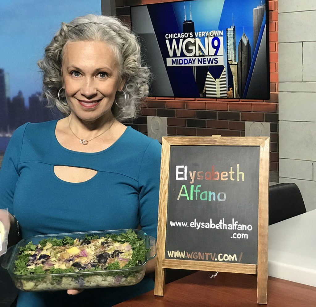 Elysabeth Alfano at WGN TV