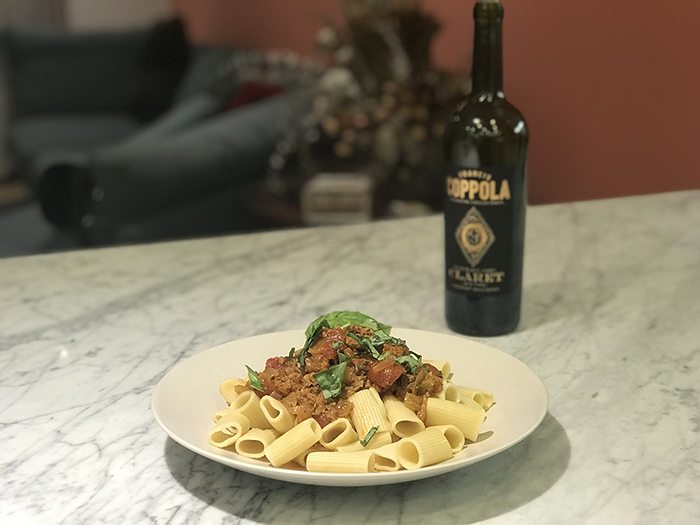 Meatless Pasta Bolognese on Awesome Vegans