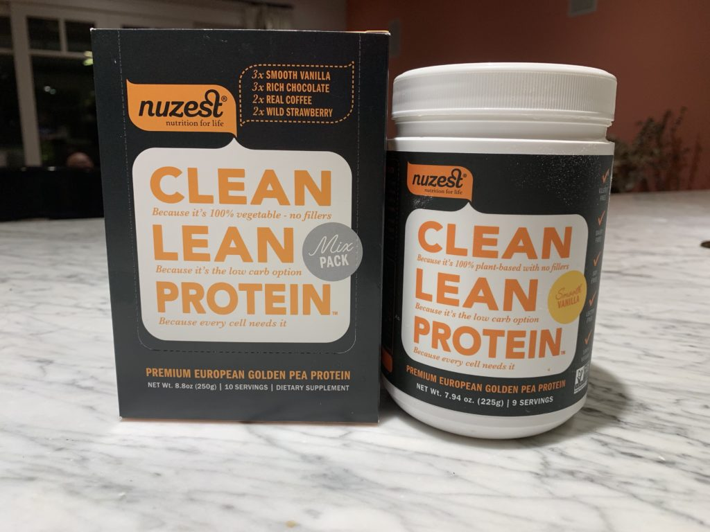 Clean Lean Protein by Nuzest on Awesome Vegans