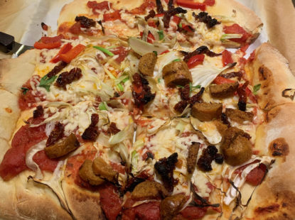 Delicious Vegan Pizza