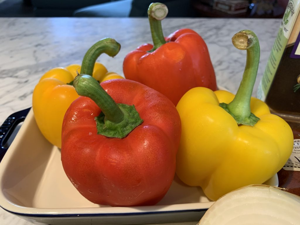 Stuffed Pepper by The Silver Chic Chef, Elysabeth Alfano