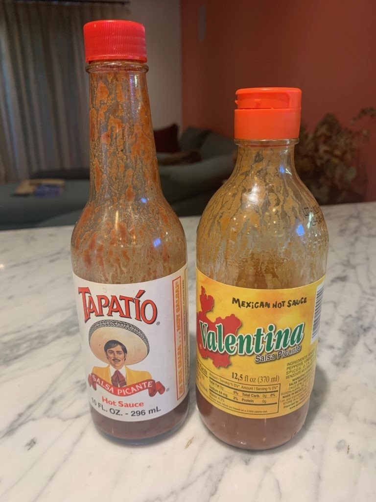 Hot Sauce for Sweet Potato Black Beans Tacos