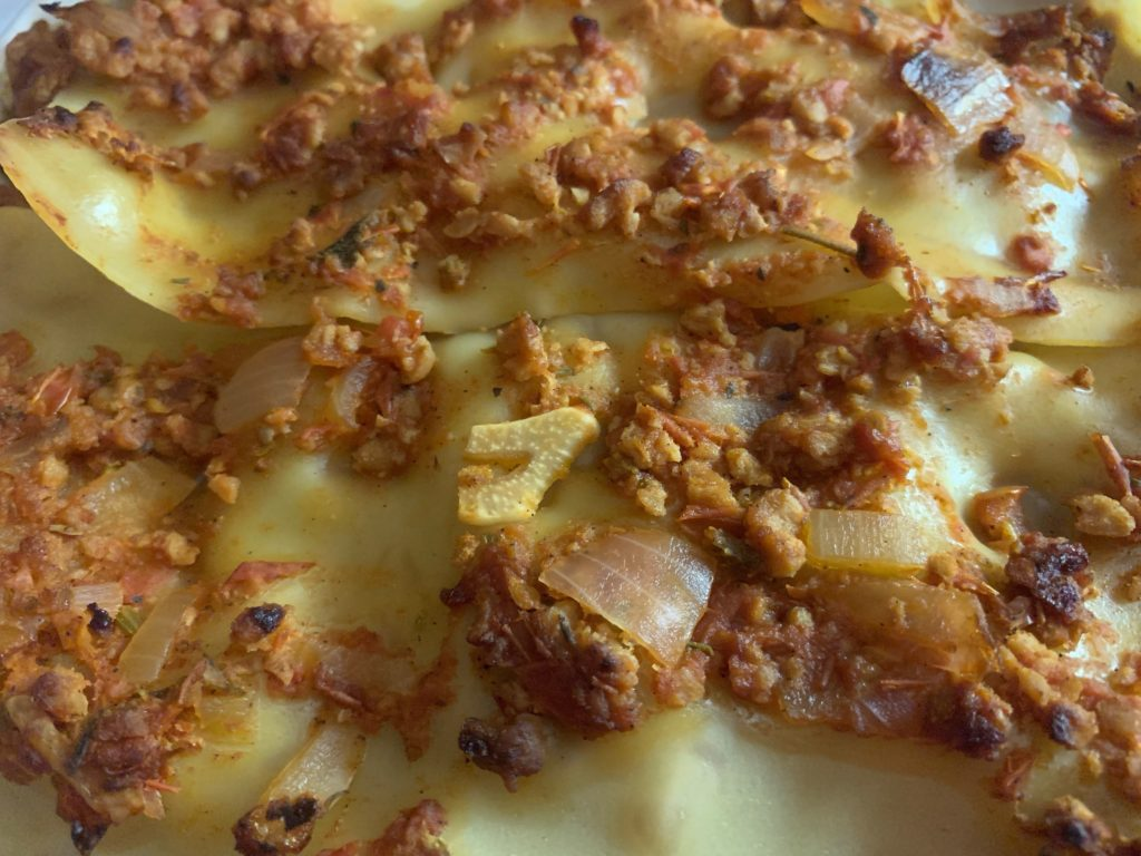 Plant-based Lasagna by the Silver Chic Chef Elysabeth Alfano