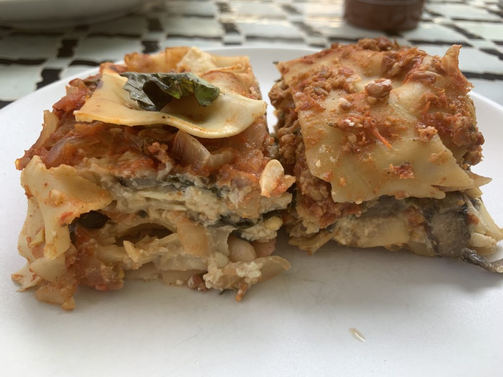 Plant-based Lasagna by the Silver Chic Chef, Elysabeth Alfano