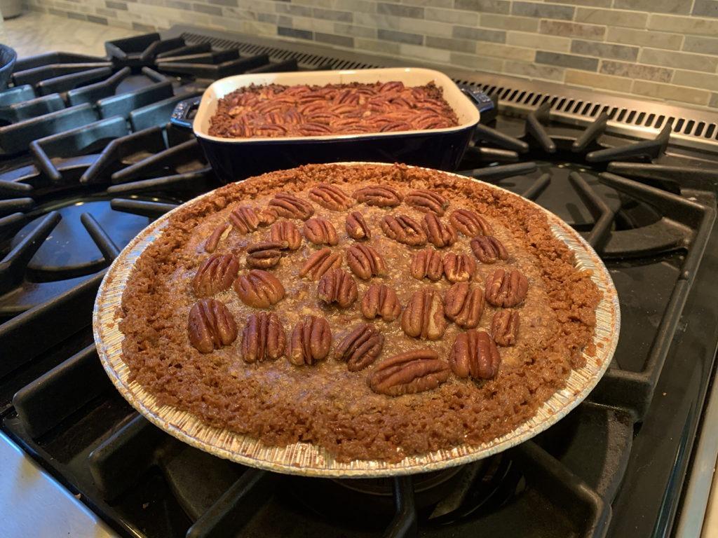 Pecan Date Pie by Elysabeth Alfano