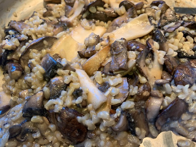 Three Mushroom Risotto