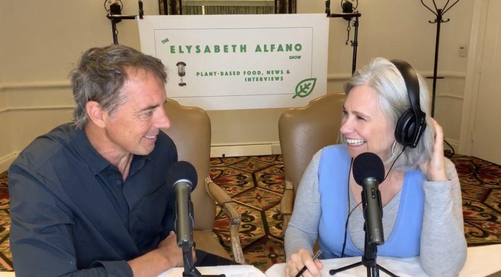 Dan Buettner and Elysabeth Alfano