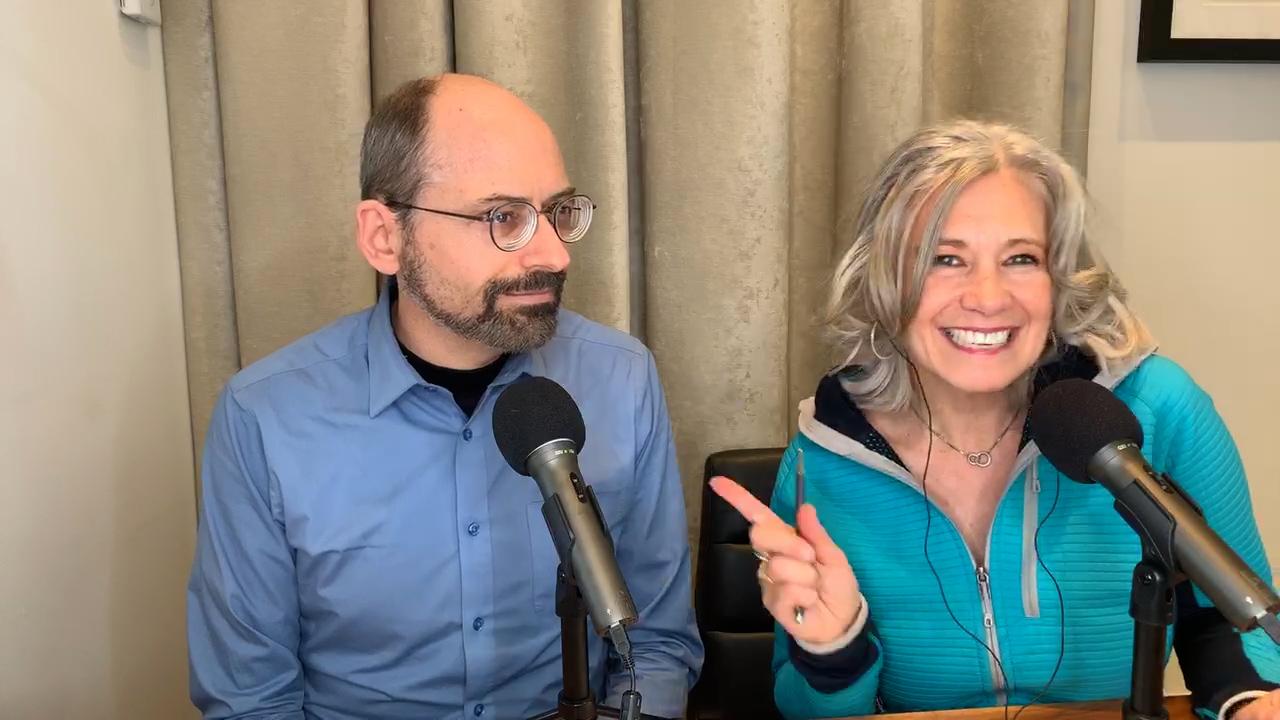 Dr. Greger and Elysabeth Alfano
