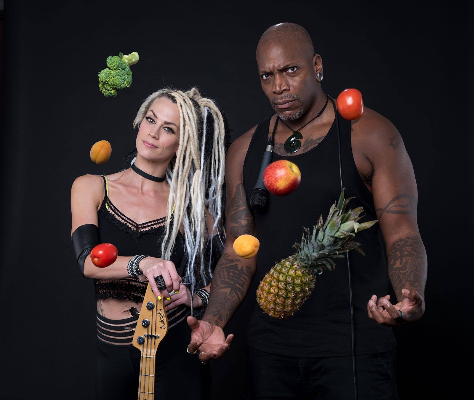 Tanya O'Callaghan and Derrick Green, Awesome Vegans